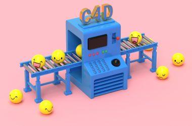【CINEMA 4D小人表情产品图片】Pictures of Cinema 4D products-兴趣使然的一个网站